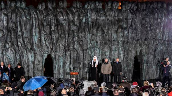 Putin opens monument to Stalin's victims, dissidents cry foul