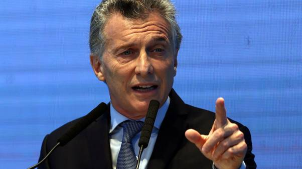 Argentina's Macri vows to pursue tax, labour, pension reforms