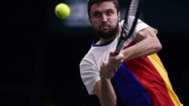 """Tennis: Simon croqué par Chardy à Bercy, mais """"l'envie toujours là"""""""