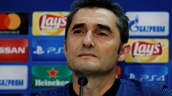 Barca not taking winning run for granted, says Valverde