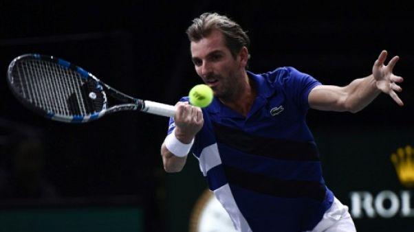 Tennis: Benneteau fait durer le plaisir à Paris-Bercy