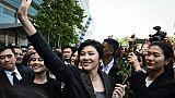 Thaïlande: les passeports de l'ex-Première ministre Yingluck Shinawatra révoqués