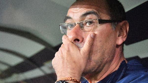 Champions: Sarri, City non imbattibile