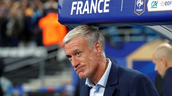 France coach Deschamps signs new contract until 2020