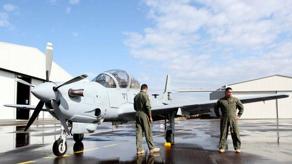 Lebanese army gets two A-29 light-attack aircraft from U.S.