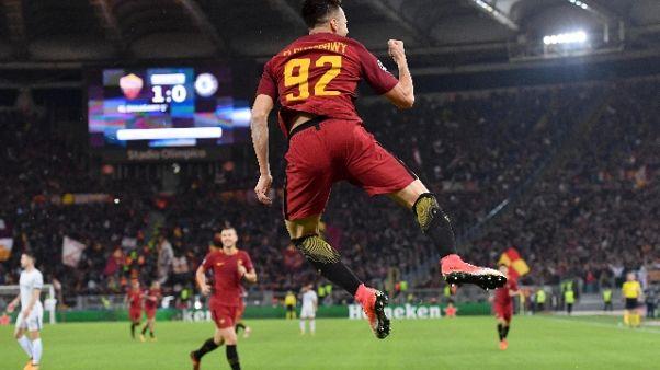 Champions: impresa Roma, Chelsea ko 3-0