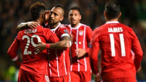 Ligue des champions: Munich décroche une qualification sans gloire à Glasgow