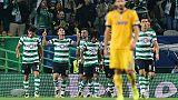 Champions: Sporting Lisbona-Juventus 1-1