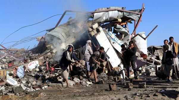 Saudi-led air strike kills 21 people in Yemen - Reuters witness