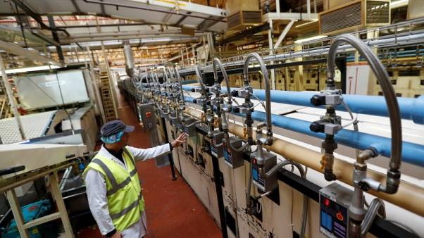 UK factories report stronger activity in October - IHS Markit