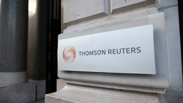 Thomson Reuters reports higher third-quarter net profit
