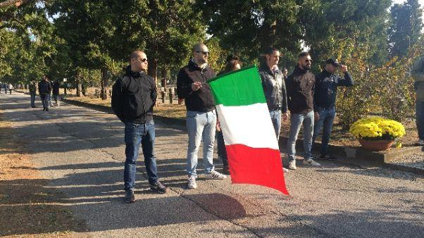 Milano: commemorazione caduti della Rsi