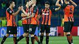 Scontri tra tifosi Shakhtar e Feyenoord