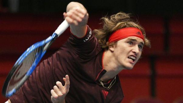 Tennis: Alexander Zverev éliminé dès son entrée en lice à Paris-Bercy