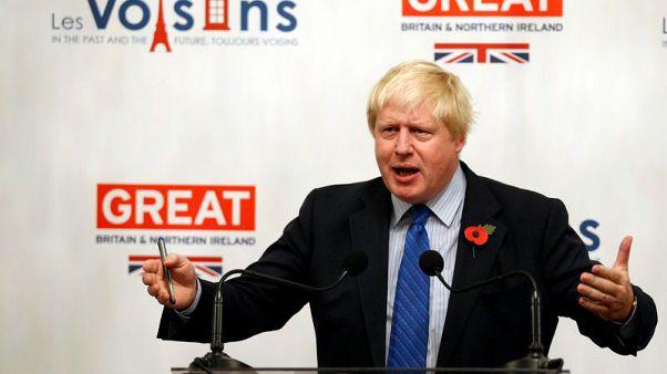 Johnson says U.S. will drive hard bargain in post-Brexit trade talks
