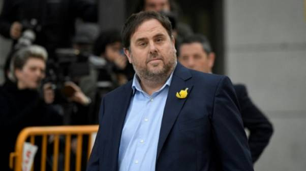 Catalogne: les dirigeants indépendantistes devant les juges à Madrid