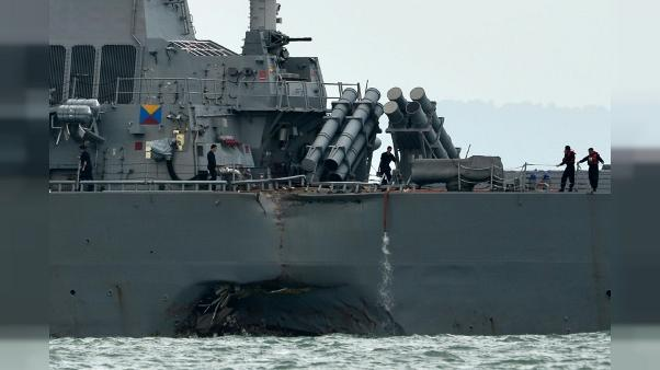 Les deux accidents de l'US Navy étaient évitables, selon l'enquête