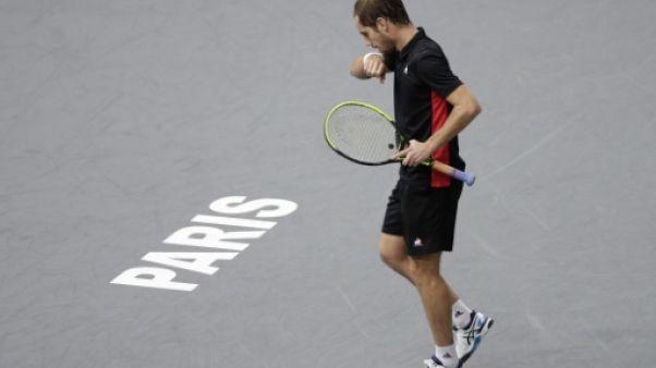 Tennis: Gasquet s'arrête au 2e tour contre Dimitrov à Paris-Bercy