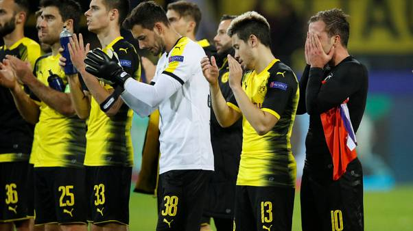 Dortmund heading out of Champions League after APOEL draw