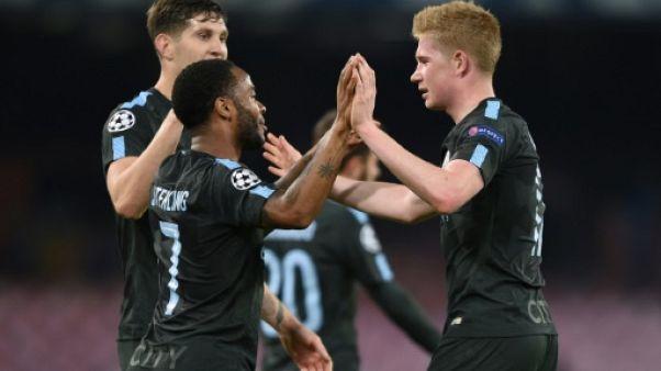 Ligue des champions: Manchester City trop fort pour Naples et déjà en 8e