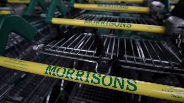 UK grocer Morrisons' run of quarterly sales growth hits two years