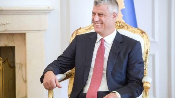 Kosovo: le président Thaçi défie l'Union européenne