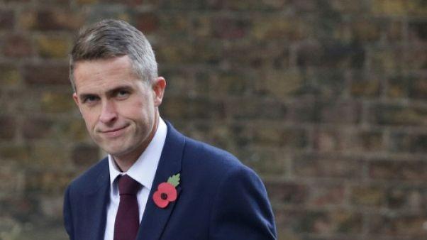 Royaume-Uni: un nouveau ministre de la Défense après le scandale de harcèlement sexuel