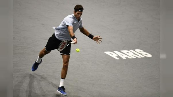 Tennis: Del Potro reste dans la course au Masters