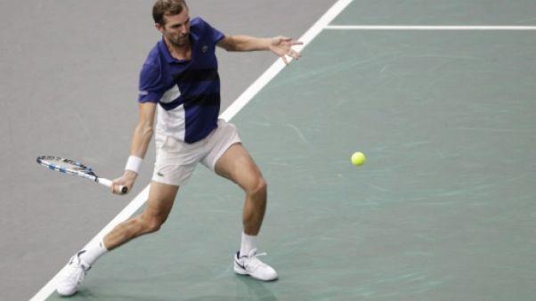 Tennis: l'aventure de Benneteau continue à Paris-Bercy