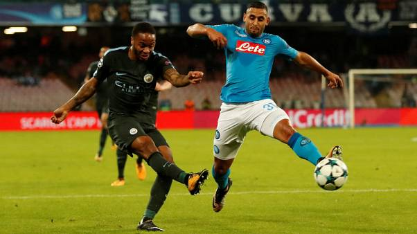 Napoli left back Ghoulam suffers serious knee injury
