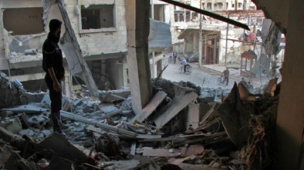 Syrie: 4 civils tués par des frappes aériennes dans la Ghouta