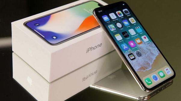 Apple's holiday-quarter sales forecast largely above estimates