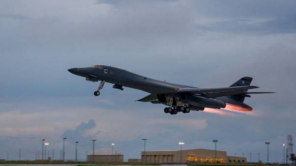 U.S. bombers fly drill near Korean peninsula