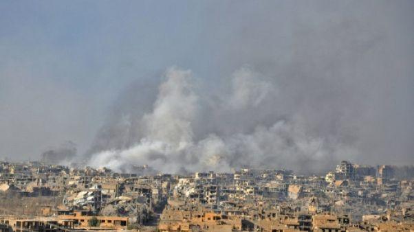 L'armée syrienne reprend la ville de Deir Ezzor à l'EI, selon l'OSDH