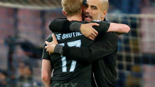 De Bruyne full of pep from Guardiola tactics at City