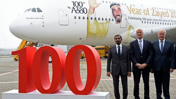 Emirates aims to place A380 order at Dubai airshow