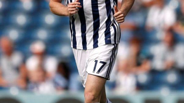 Midfielder Burke could return for West Brom at Huddersfield