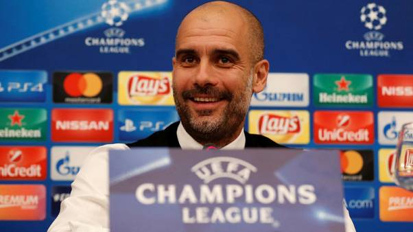 Man City's lead counts for little at this stage, says Guardiola