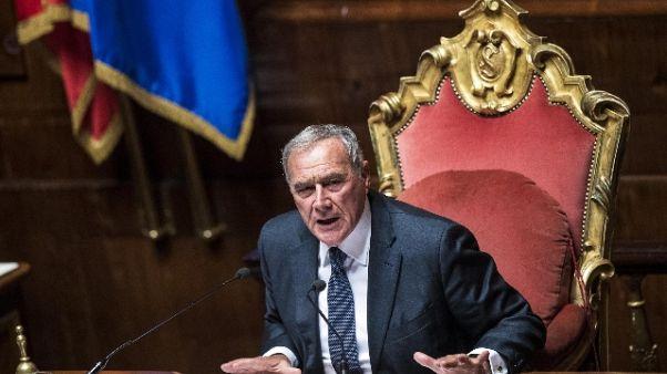 Bersani, Grasso per progetto governo