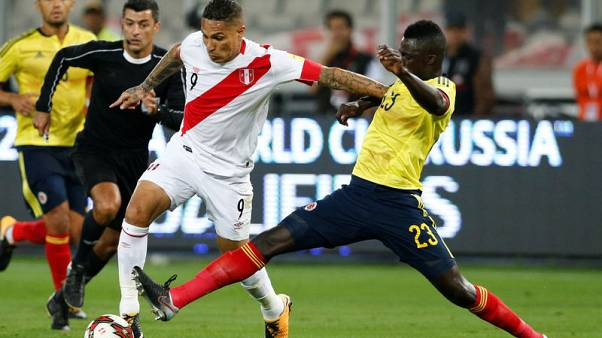 Peru striker Guerrero suspended by FIFA after doping test