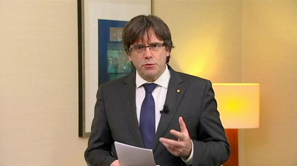 Ousted Catalan leader calls for united front for independence