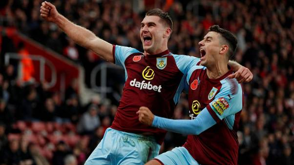 Burnley's impressive start continues with win at Southampton