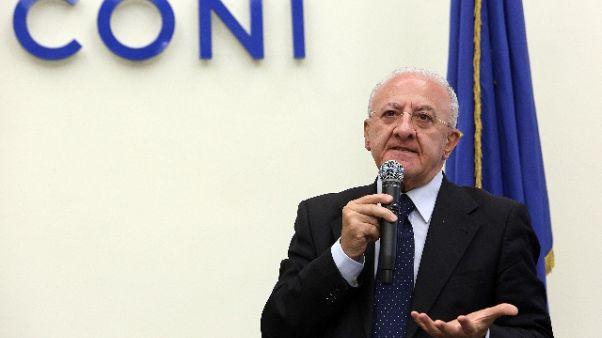 Universiadi: De Luca, ok commissario