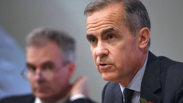Bank of England's Carney sees slower growth without Brexit deal
