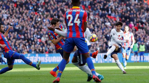 Tottenham edge past Palace with Son winner