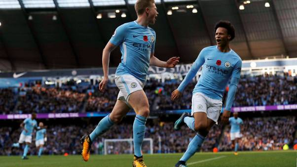 Man City continue winning streak with victory over Arsenal