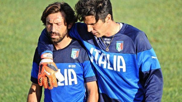 """Buffon:""""Pirlo campione elegante e unico"""""""