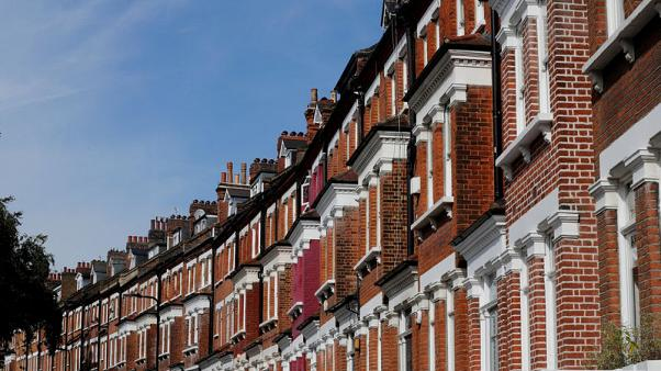 FILE PHOTO: Terraced houses are seen in Primrose Hill, London, Britain, September 24, 2017.  REUTERS/Eddie Keogh/File Photo