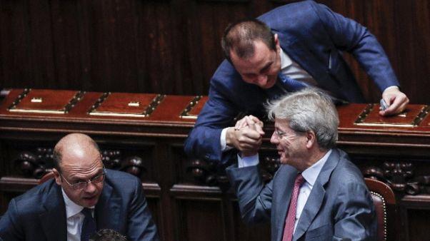 Rosato, Gentiloni ok, ma candidato Renzi