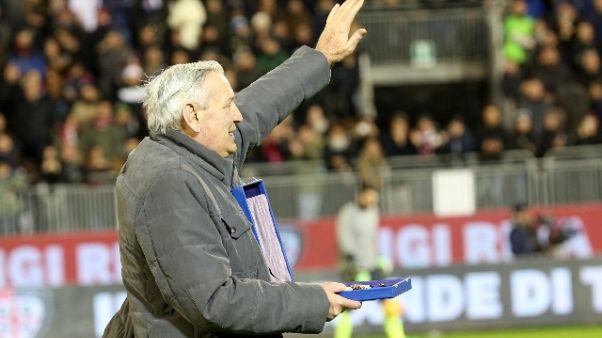Calcio:auguri per i 73 anni di Gigi Riva